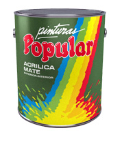 Popular Acrílica Mate Superior